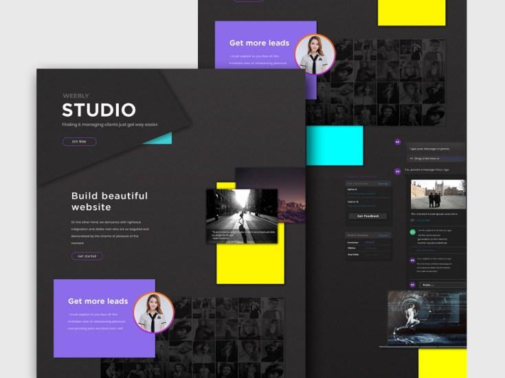 Free Creative Web Agency Website Template