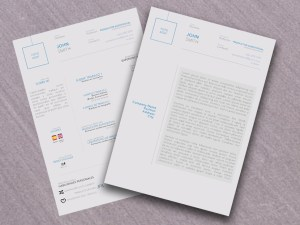 Free Formal Curriculum Vitae Template