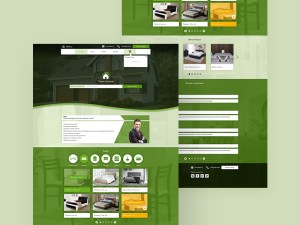 Free Furniture Shop Website Template