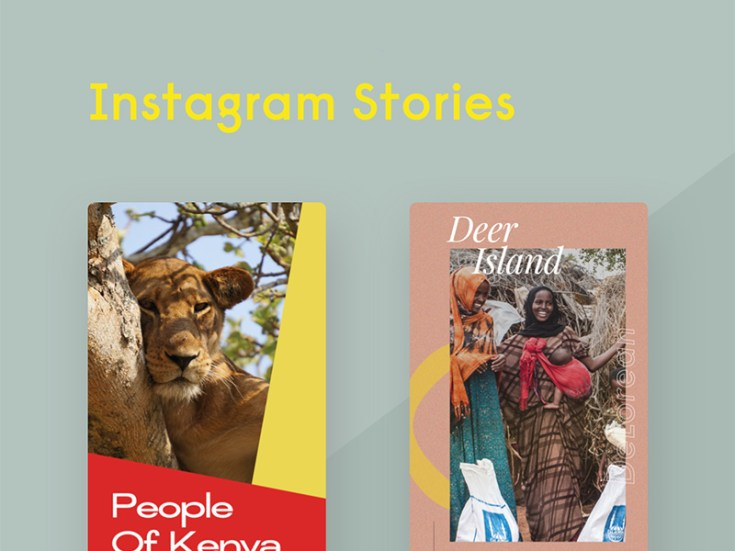 Free Instagram Stories PSD Templates