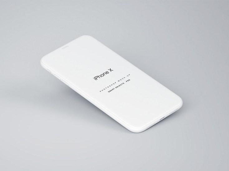 Free Perspective iPhone X Mockup