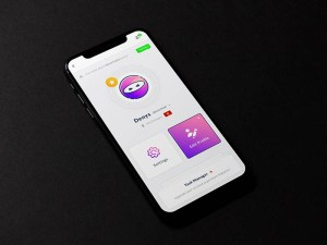 Free Profile Dashboard UI Template