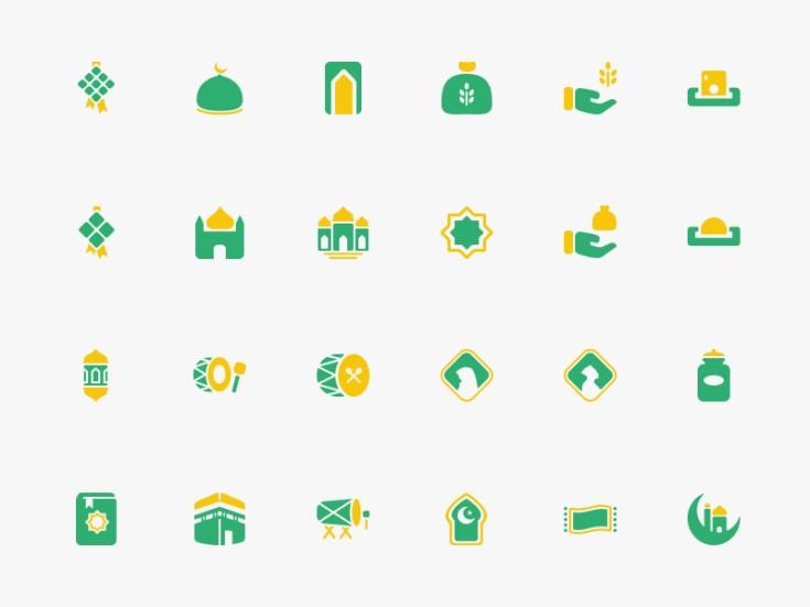 Free Ramadhan Icon Set - Free Download | Freebiesjedi