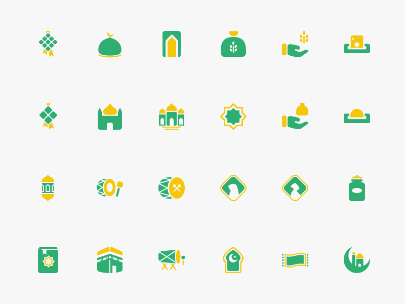 Free Ramadhan Icon Set