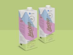 Free Tetra Brik Packaging Mockup