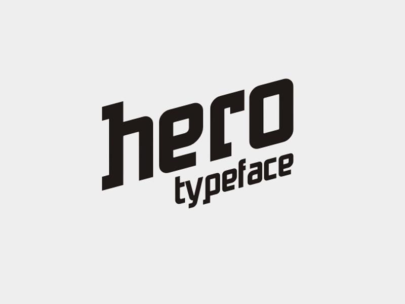 Hero Free Typeface