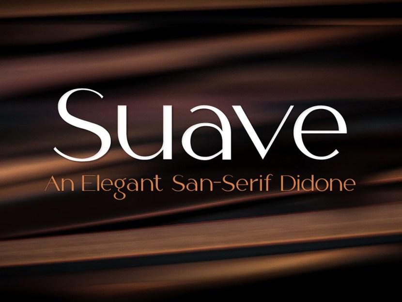 Suave – Free Fashion Font