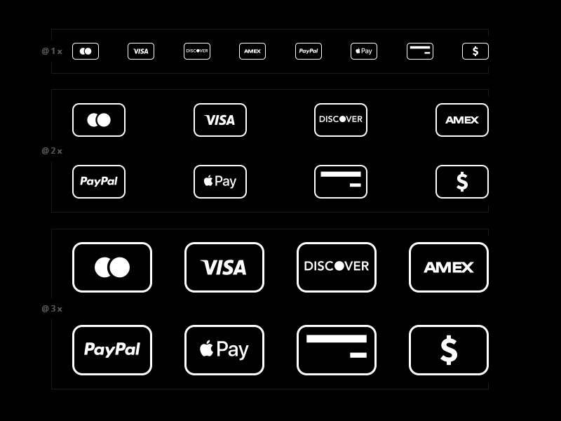 Free Credit Card Payment Icons