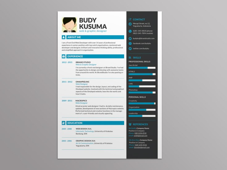 Free Resume Template for Best Impression