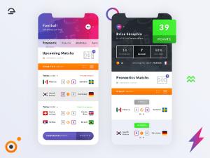 Free Football World Cup 2018 App UI