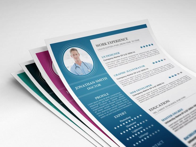 Free Health Resume Template