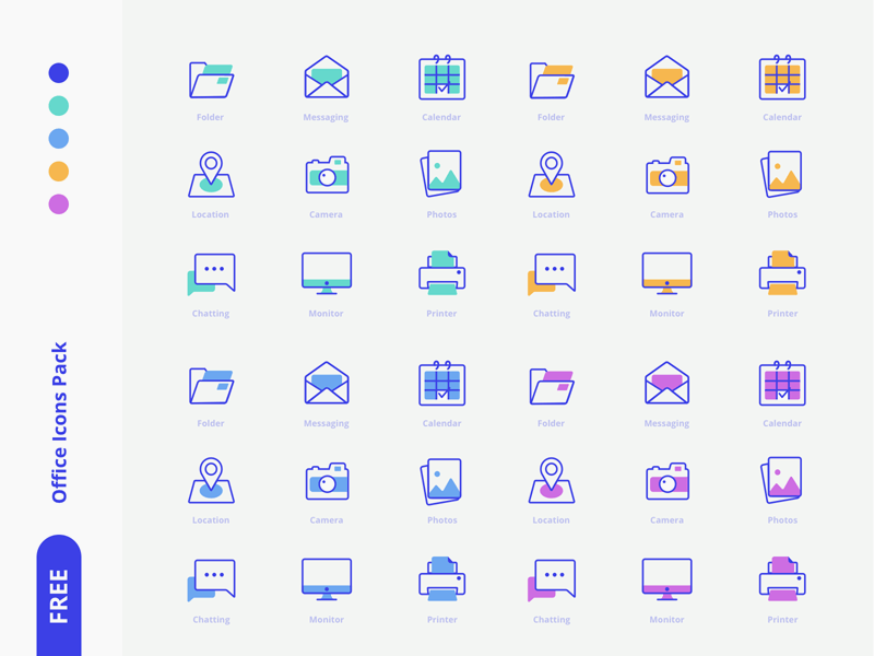 Free Office Icons Pack