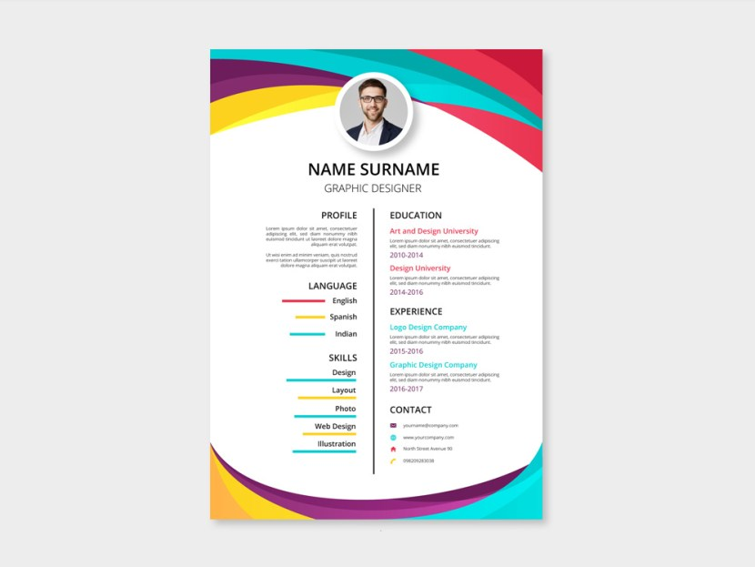 Free Two Column Resume Template