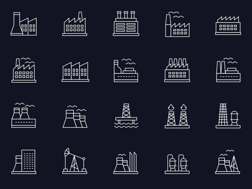 Free Industry Icon Set