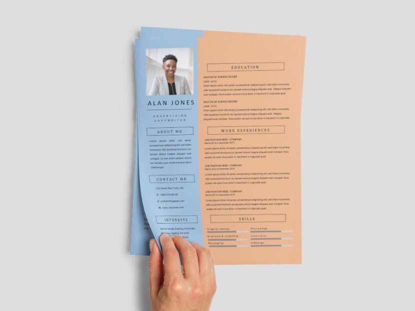 Free Copywriter Resume Template