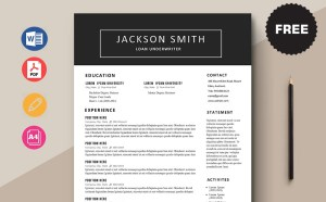 Free Loan Underwriter CV/Resume Template
