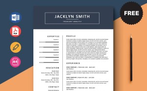 Free Treasury Analyst Resume Template
