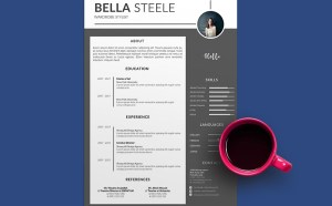 Free Wardrobe Stylist Resume Template