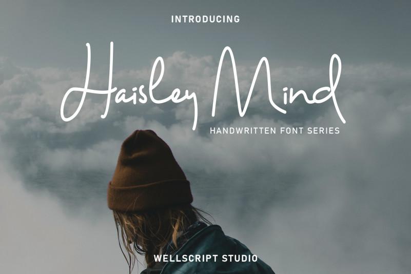 Haisley Mind – Free Monoline Font