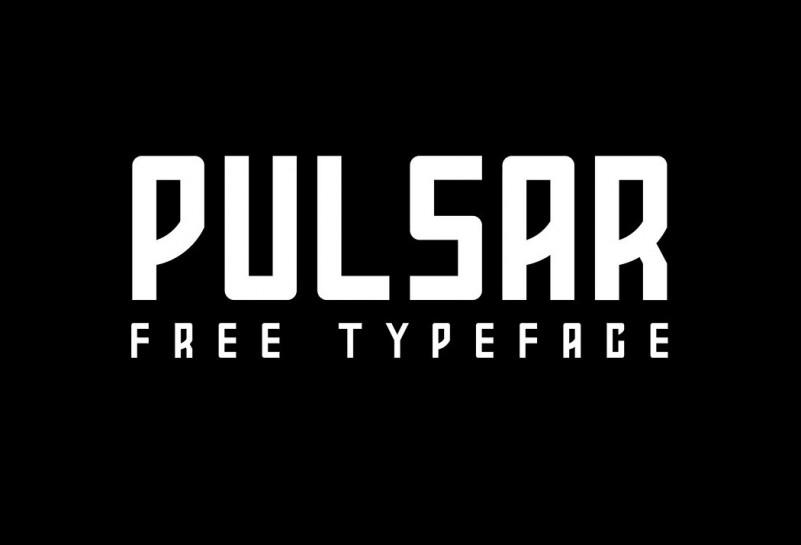 Pulsar – Free Bold Sans Serif Typeface