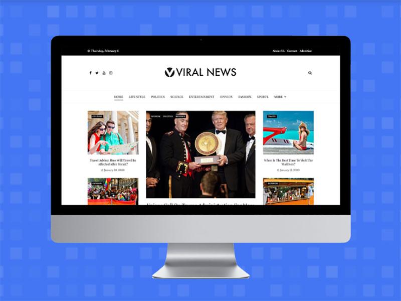 Viral News : Free Viral WordPress Theme