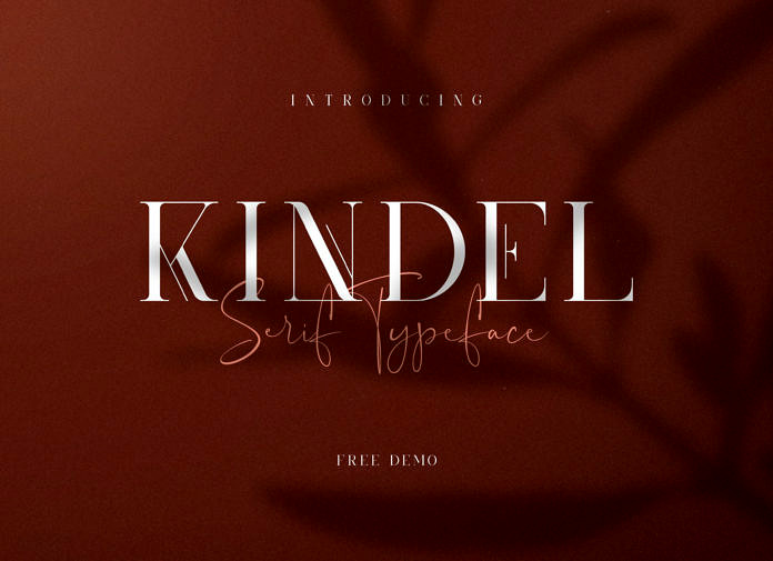 Kindel – Free Serif Font