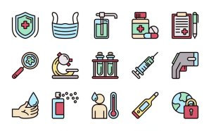 Free Pandemic Icon Set