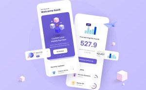 Earnings Management Mobile App UI (Figma)