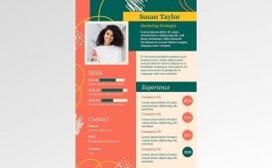 Free Marketing Strategist CV Resume Template
