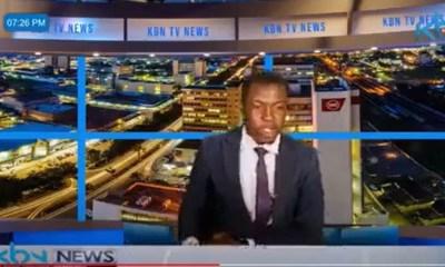 Zambian TV presenter demands for his salary