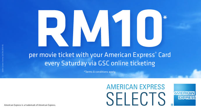 AmexPromotion GSCMovieTicketforRM