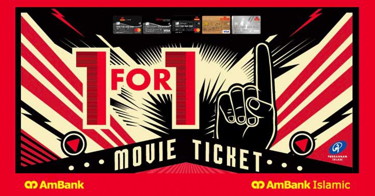 Ambank Buy 1 Free 1 in GSC