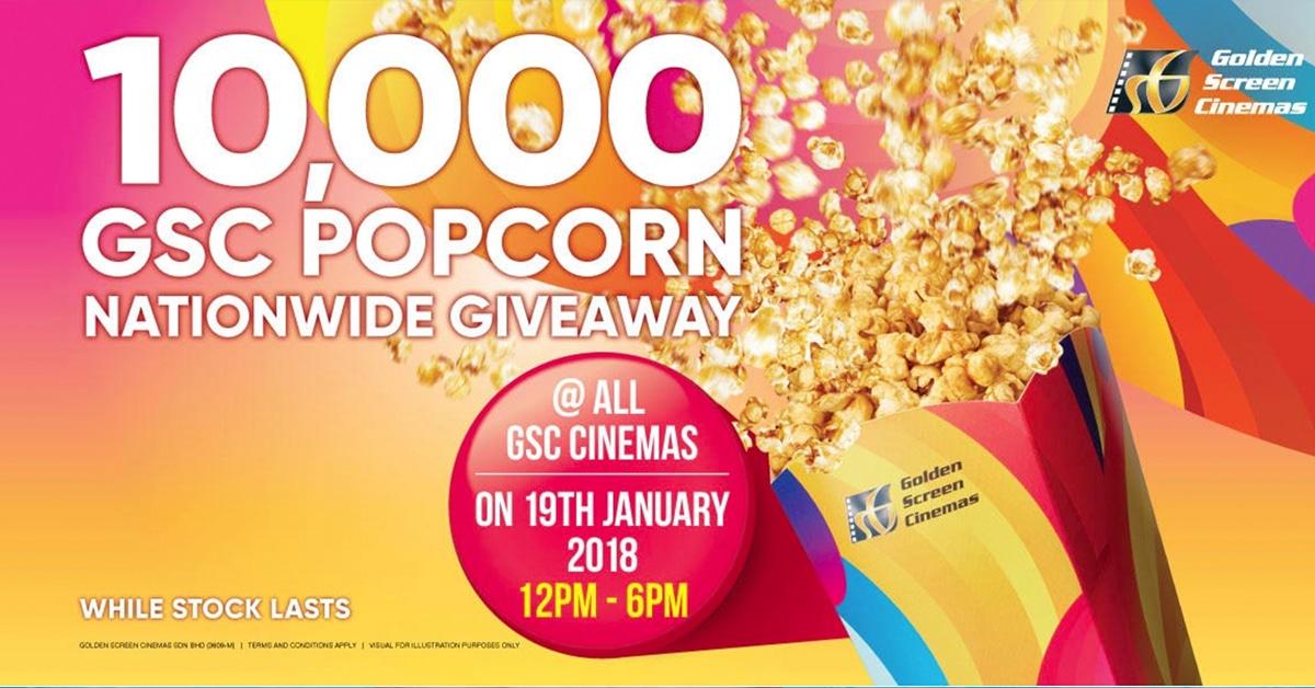 GSC FREE Popcorn