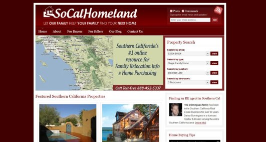 real estate website design & development