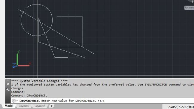 DRAWORDERCTL – Over Lapping Objects Speed Up AutoCAD Performance