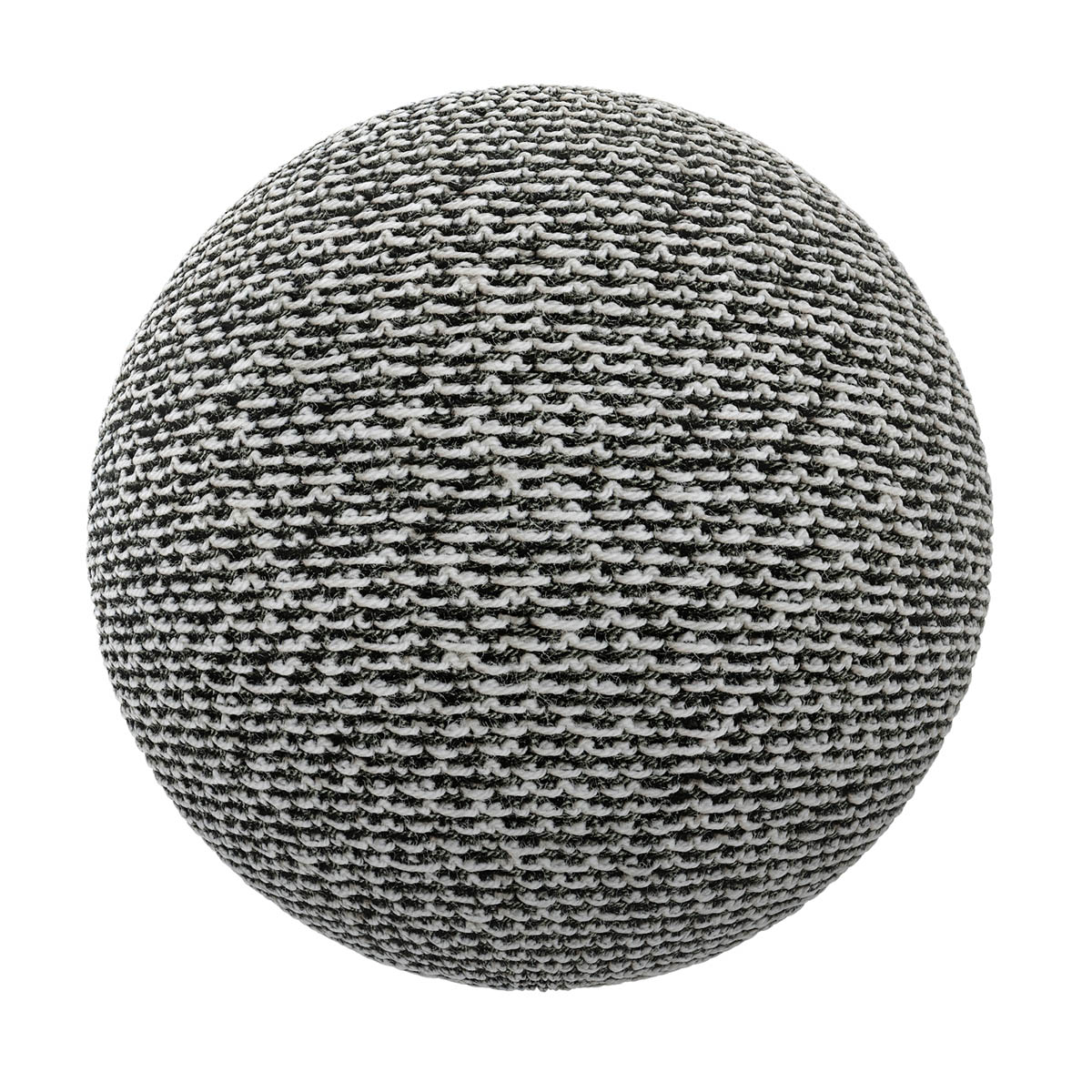 black and white fabric free pbr texture