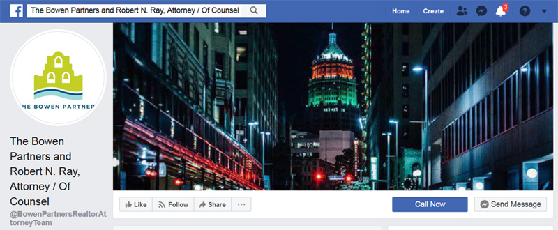 The Bowen Partners, comprised of Kristopher Bowen, Jr and Andrea Bowen, representing Guardian of Charlie Thrash's estate (money), Tonya Barina. Nothing says legal professionalism like a FaceBook page, right?