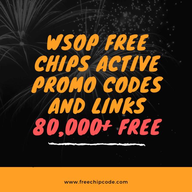 WSOP Free Chips