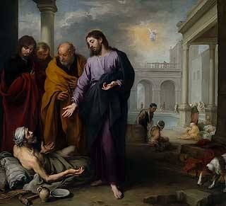 Christ Healing the Paralytic at the Pool of Bethesda, Murillo