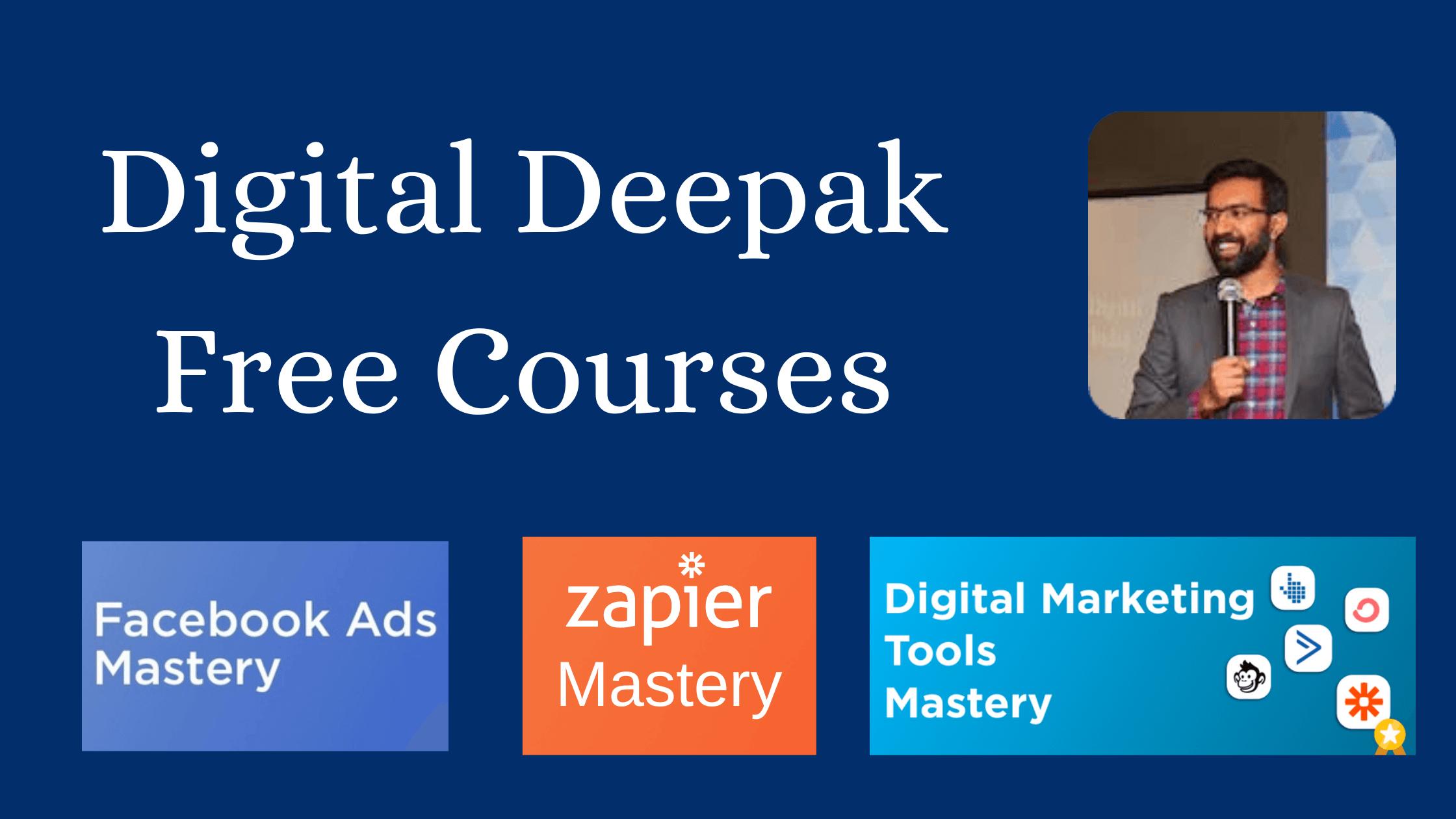 digital deepak free online courses