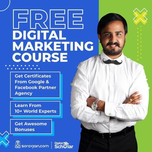 free course by sorav jain giveaway