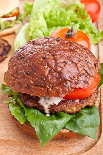 Atchara Bison Burger