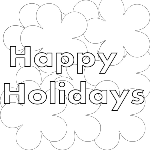 holiday coloring pages printable # 65