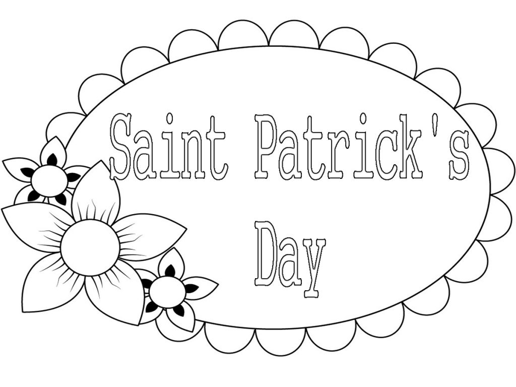 Top 14 St Patrick S Day Coloring Pages Free Printable