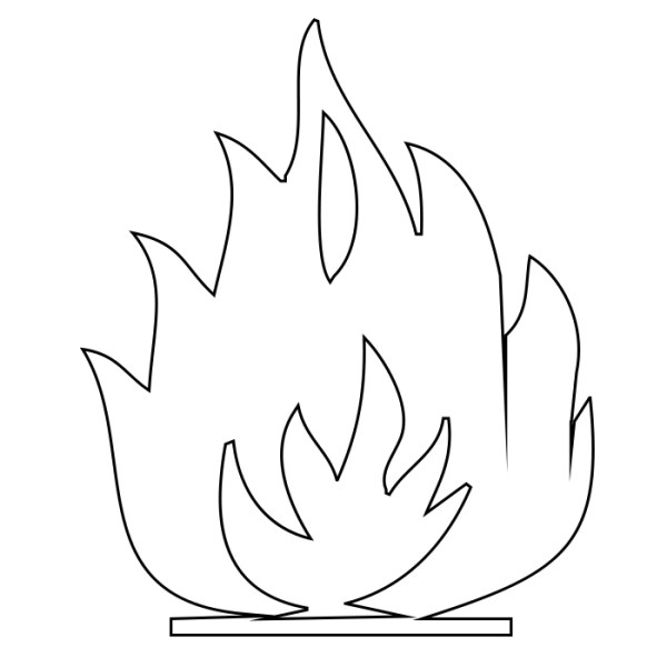 flames coloring pages # 39