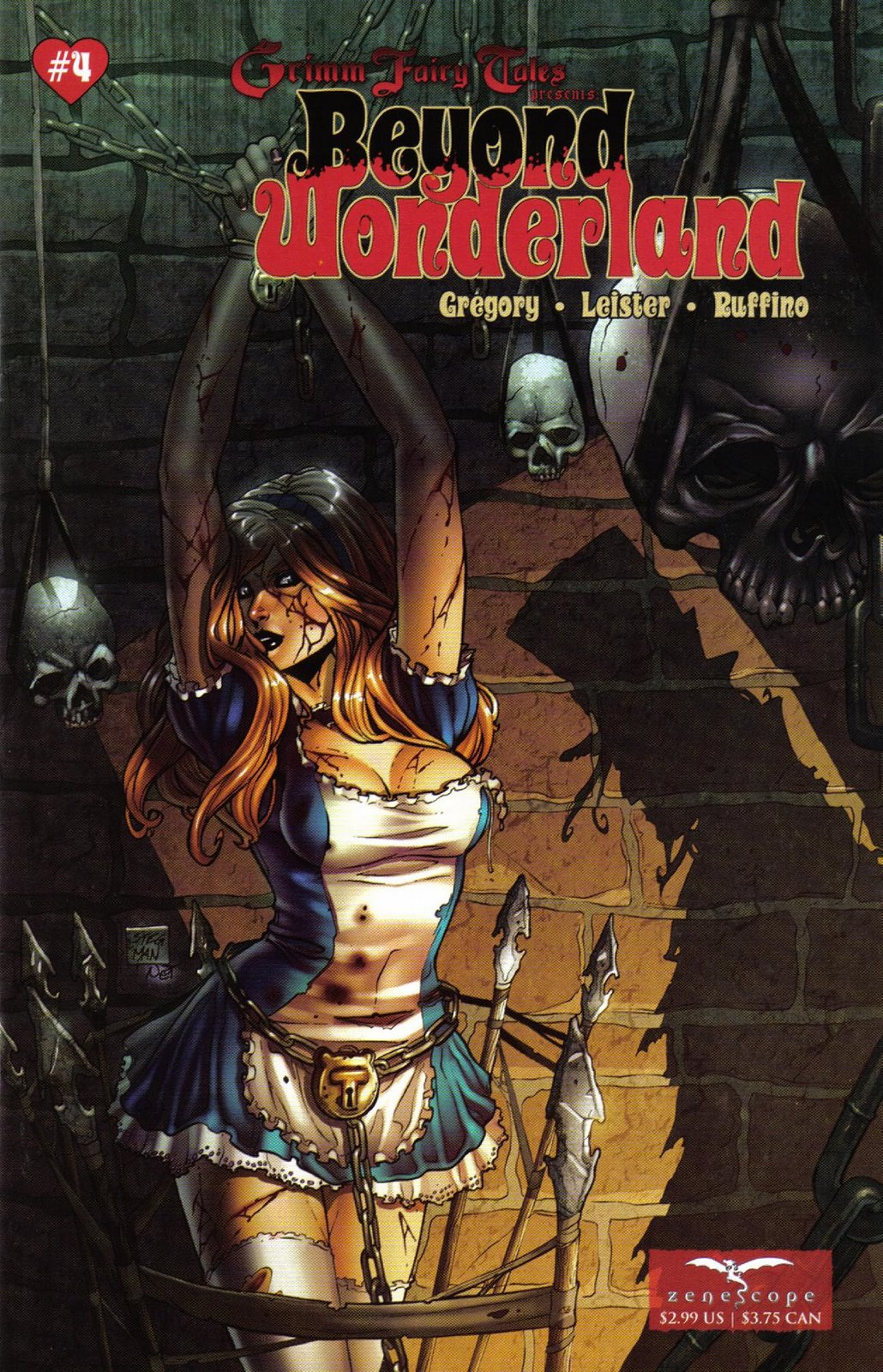 Grimm Fairy Tales Beyond Wonderland 04
