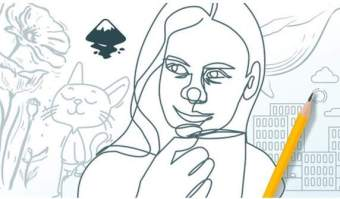 Create vector line art illustrations with Inkscape