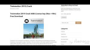 Twinmotion 2019 Crack With License Key Free Download
