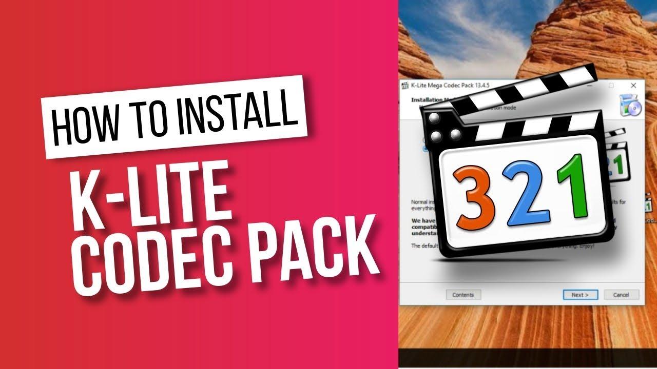 K-Lite Mega Codec Pack 14.30