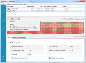 Auslogics Disk Defrag